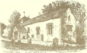 Coombes church old