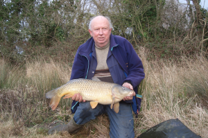 Passie with a large carp