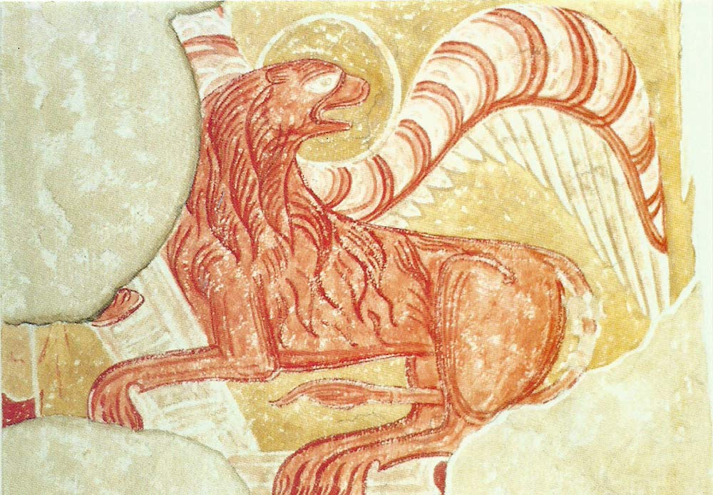 Coombes-Church-Lion-Symbol-of-StMark